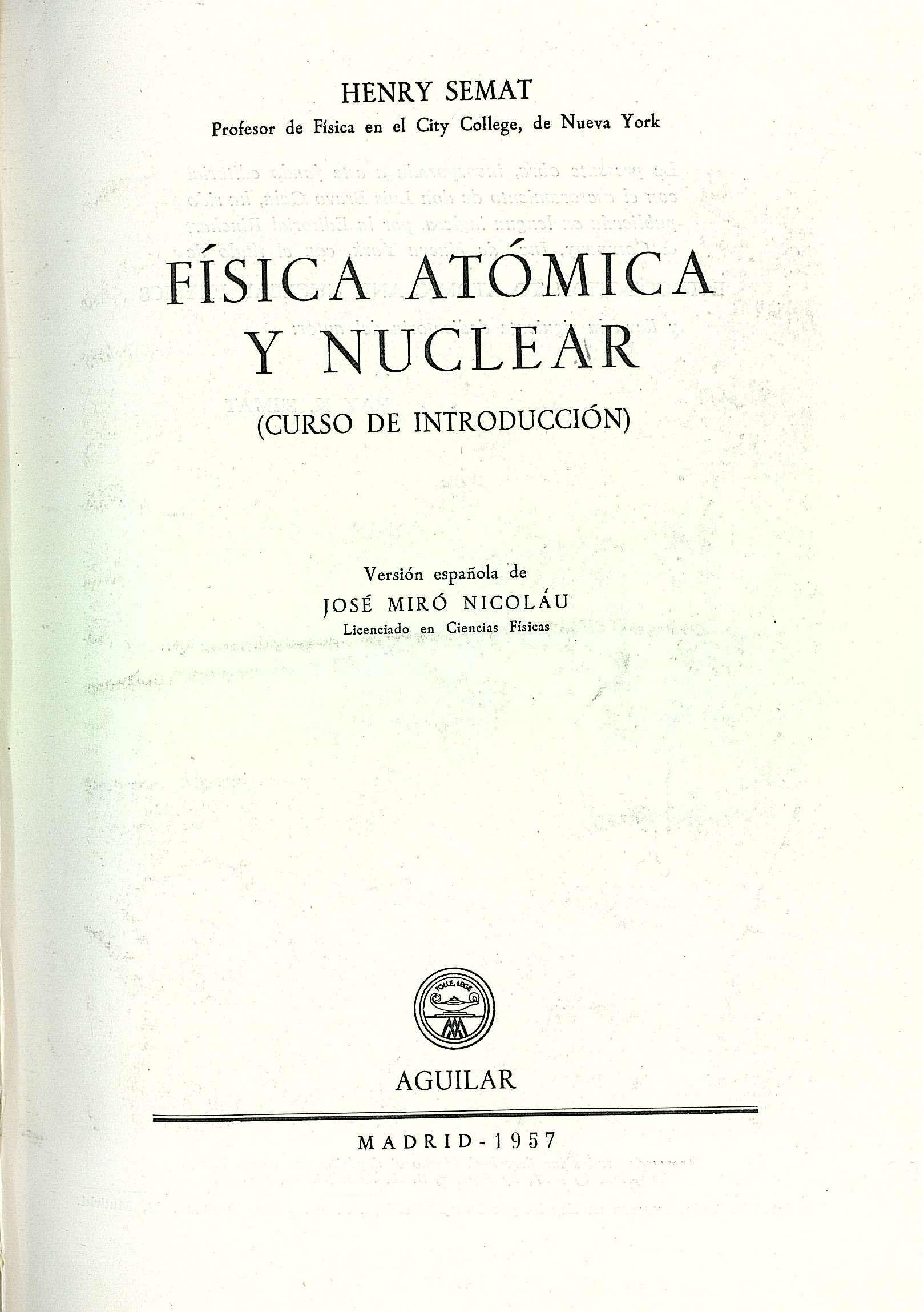 Fisica nuclear curso
